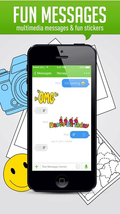 HiTalk - Phone Calls App, Text screenshot-3