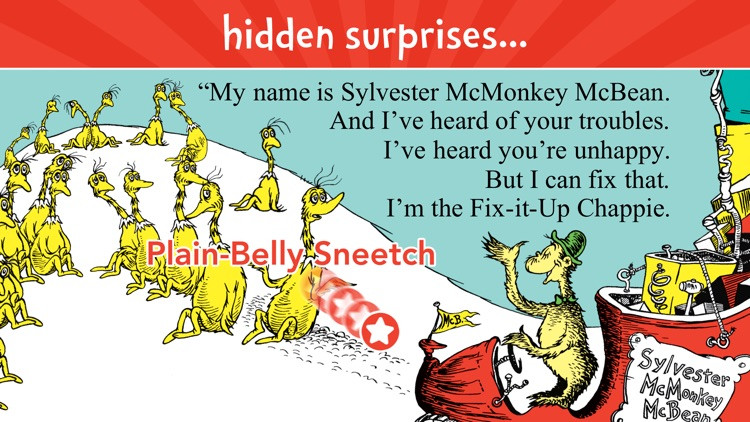 The Sneetches by Dr. Seuss