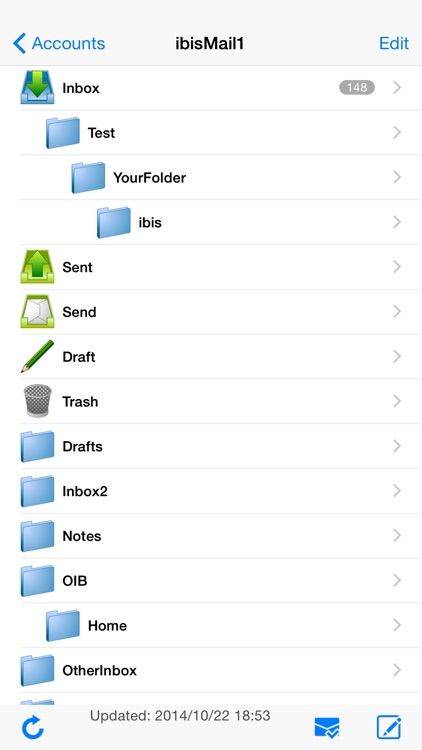 ibisMail - Filtering Mail screenshot-1