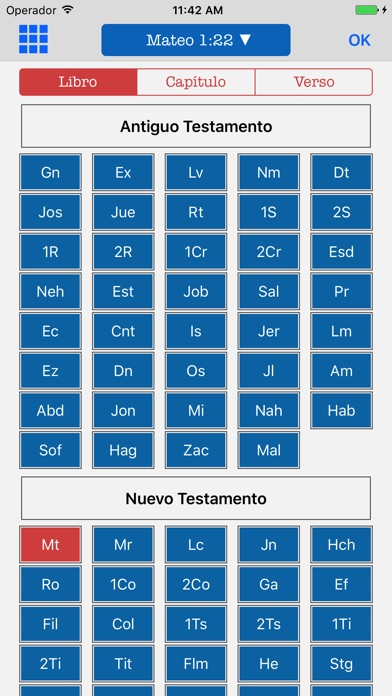 Screenshot for Bilingual Bible English Spanish - KJV Reina Valera in Jordan App Store