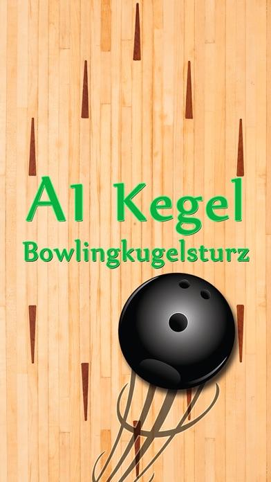A1 Pin Bowling-Kugel FallenScreenshot von 1
