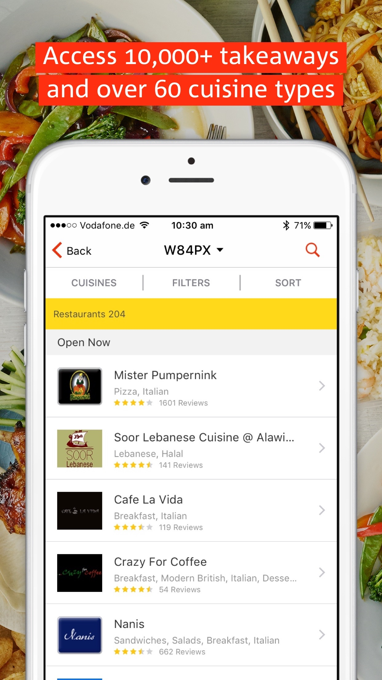 hungryhouse - takeaway food delivery Screenshot