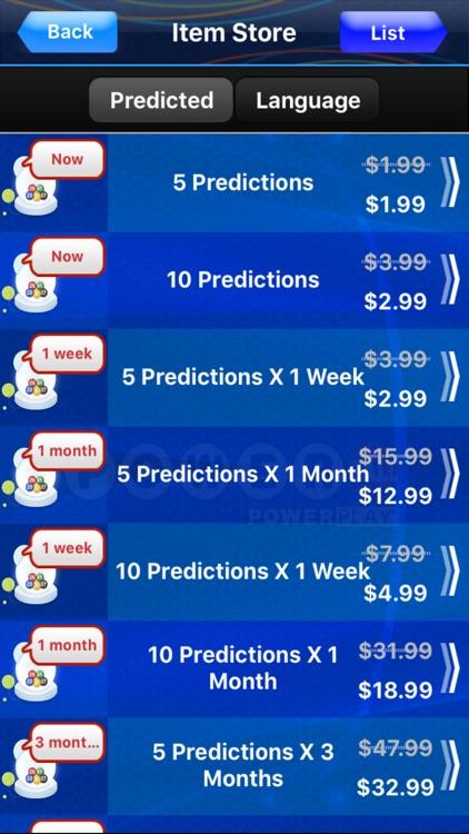 Jackpot for Powerball screenshot-3