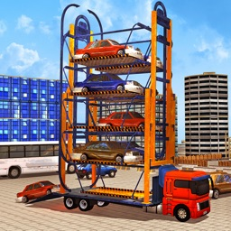 Racing Car Parking Crane