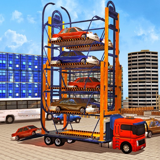 Download Racing Car Parking Crane free for iPhone, iPod and iPad