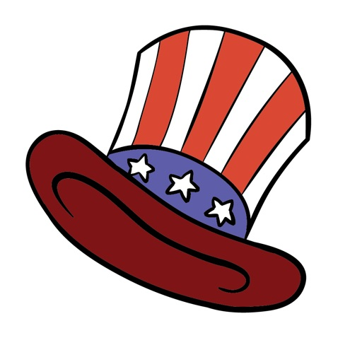 USA Independence Day Stickers