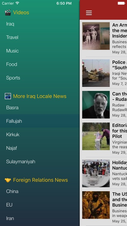 Iraq News In English Today Iraqi Radio Screenshot 4