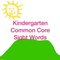 Kindergarten Common Core Sight Words