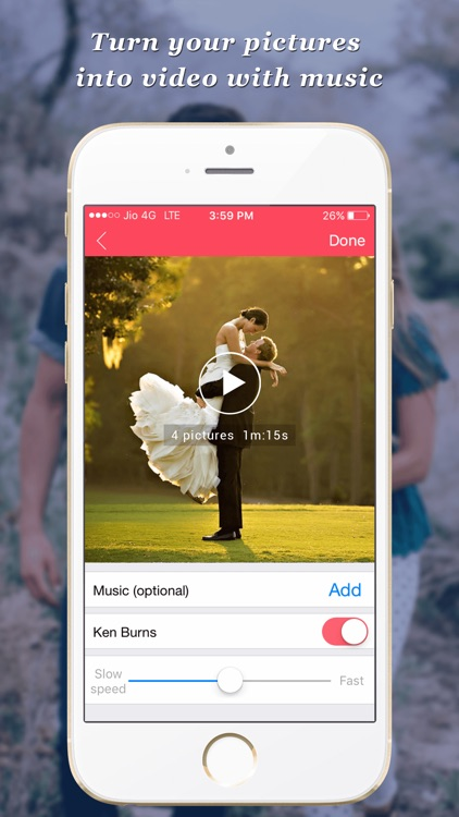 PicsVideo - Memories to awesome music videos