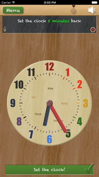 Set the clock - telling time (learn to tell time) screenshot-3