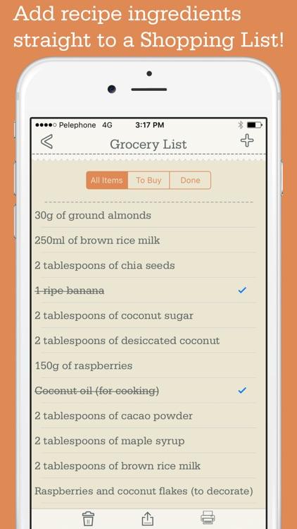 OrganizEat: recipe organizer & keeper cookbook box screenshot-3