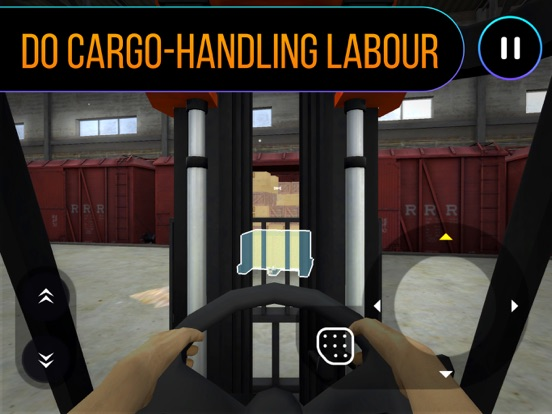 Railway Forklift Simulator 3D-ipad-2