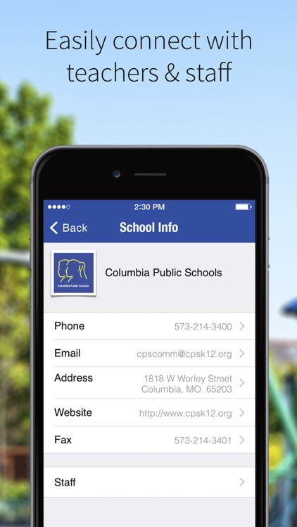 Columbia Public Schools screenshot-1