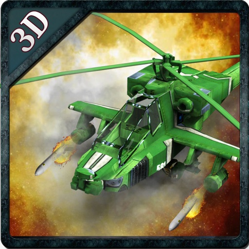 Real Gunship Helicopter War iOS App