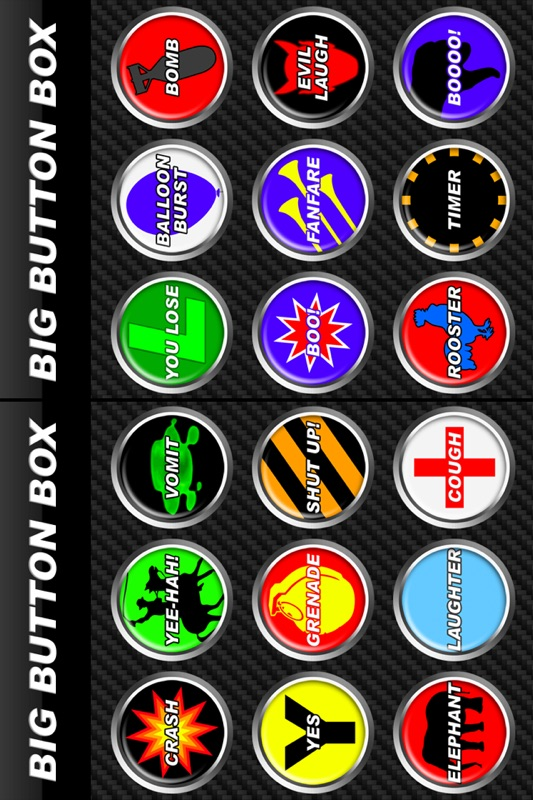 Big Button Box - funny sound effects & loud sounds - Online Game
