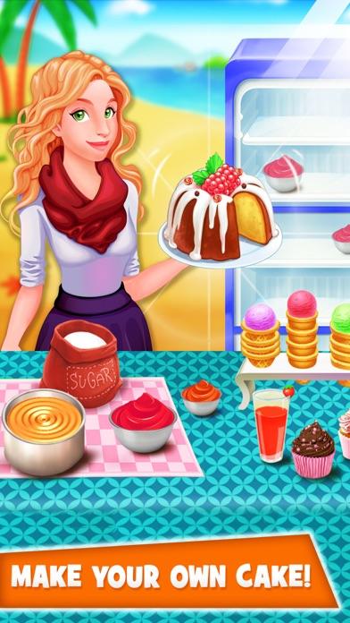 Kinder Kuchen Maker Food Kochen Spiele für MädchenScreenshot von 2