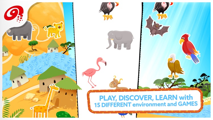 Little Ones Adventure - Sorting Shapes and Colors screenshot-0