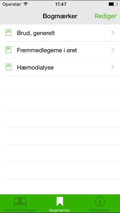 Screenshot for Patienthåndbogen in Spain App Store