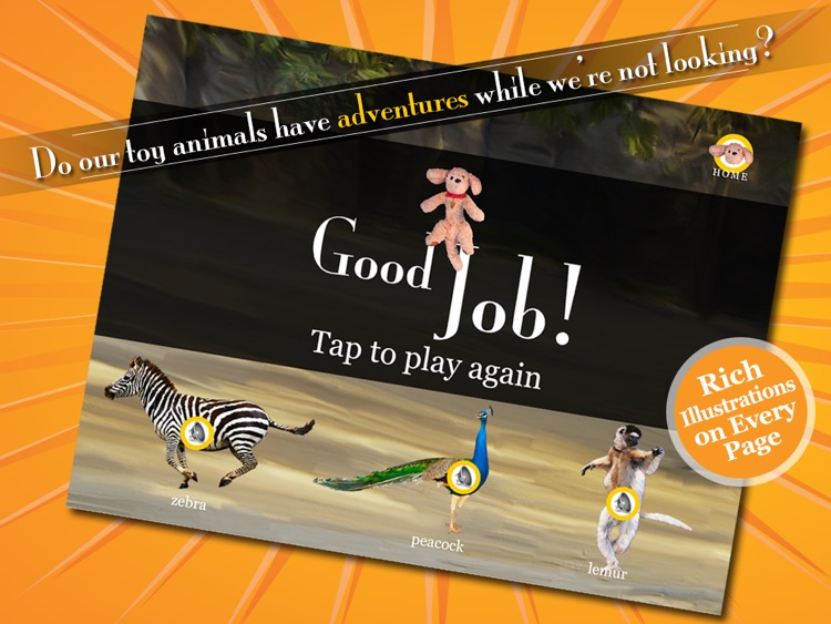 The Adventures of Puppup Zoo Games screenshot-4