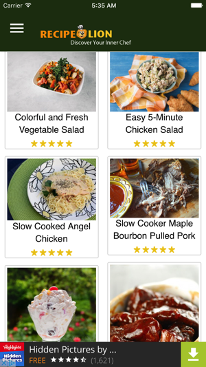 Recipe lion on the app store screenshots forumfinder Gallery