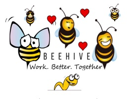 Some free stickers you can use to interact with your co-workers whether you work at one of our Beehive co-working spaces or elsewhere