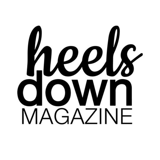 Heels Down Magazine app logo