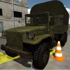 Jogo simulador carros 3D estacionamento caminhão icon