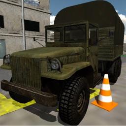 truck parking 3D car simulator game