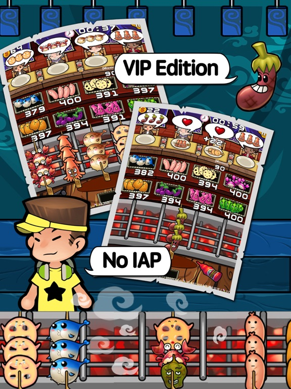 match-three game : Happy BBQ VIP Screenshots