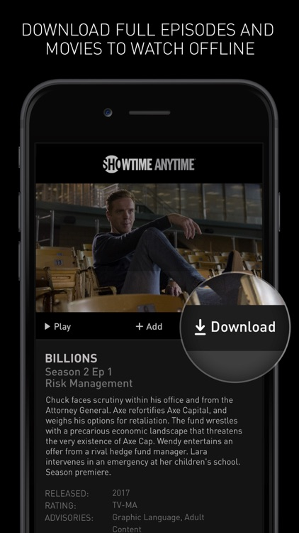 Showtime Anytime screenshot-3