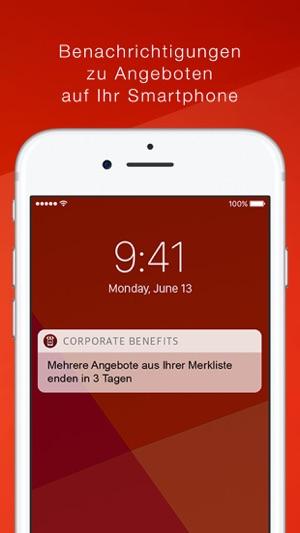 corporate benefits im app store