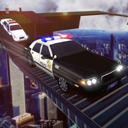 Impossible Stunts: Police Car Racing
