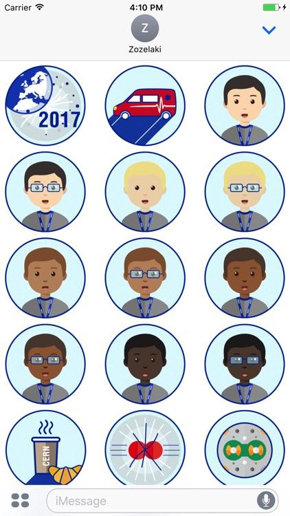 CERN Stickers
