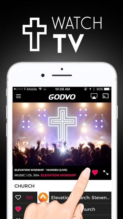 GODVO - Watch Christian TV, Jesus Christ, God screenshot-0
