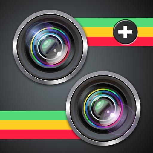 Split Camera - Pic Photo Mirror Clone Effects app logo