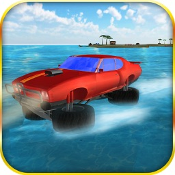 Water Surfer Monster Truck – Extreme Stunt Racing