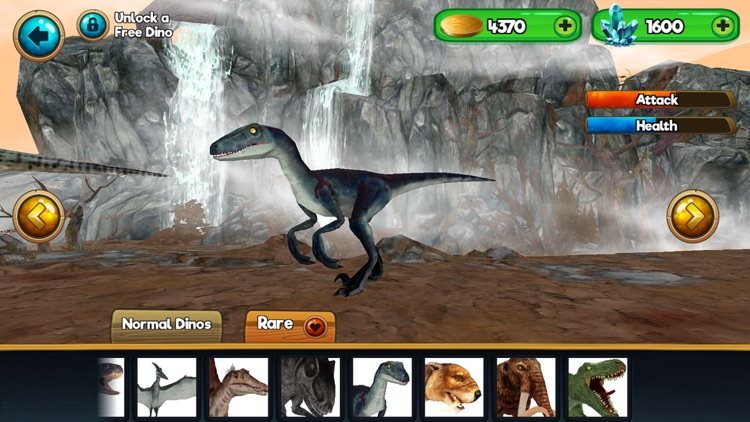 Jurassic Dino-saur Online Sim-ulator screenshot-0