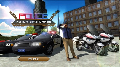 Police Motor Bike Chase - Real Cop City Drive