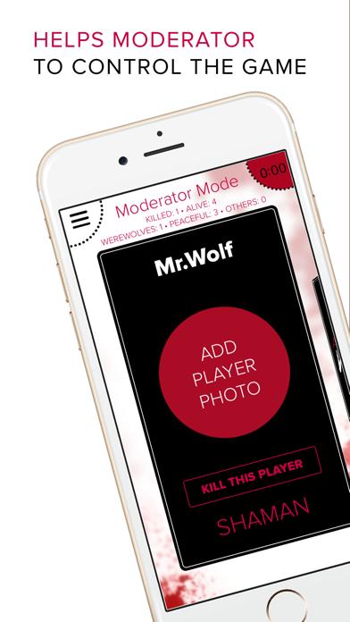 Anyplace Werewolf party app. Werewolf / Mafia game