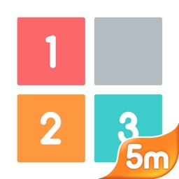 One Two Three - A 2048 and Threes Game