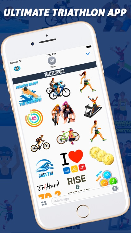 TriathlonMoji - Triathlon Emoji Keyboard screenshot-4
