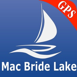 Macbride lake GPS nautical charts