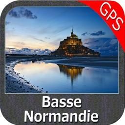 Marine: Basse Normandie - GPS Map Navigator
