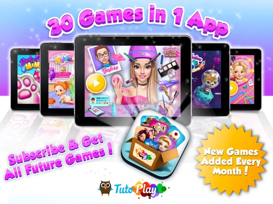 TutoPLAY Best TutoTOONS Games на iPad
