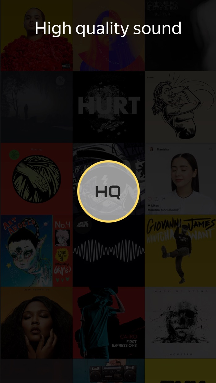 Yandex.Music: Download Player for iPhone and iPad Screenshot