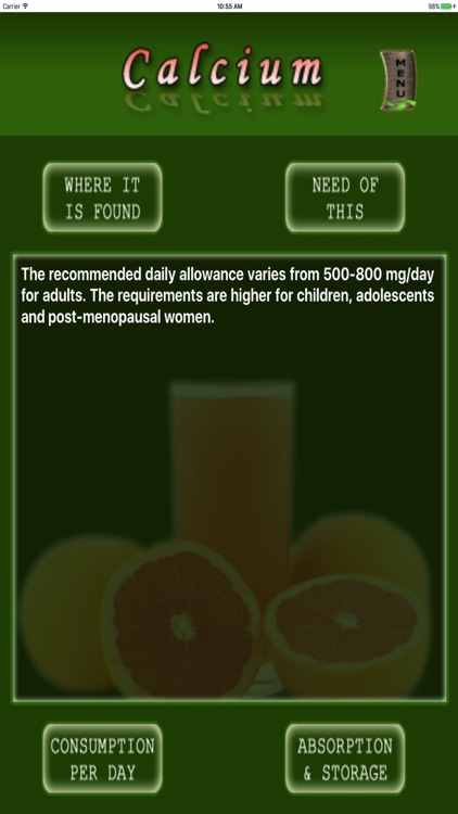Nutrition n Health screenshot-3