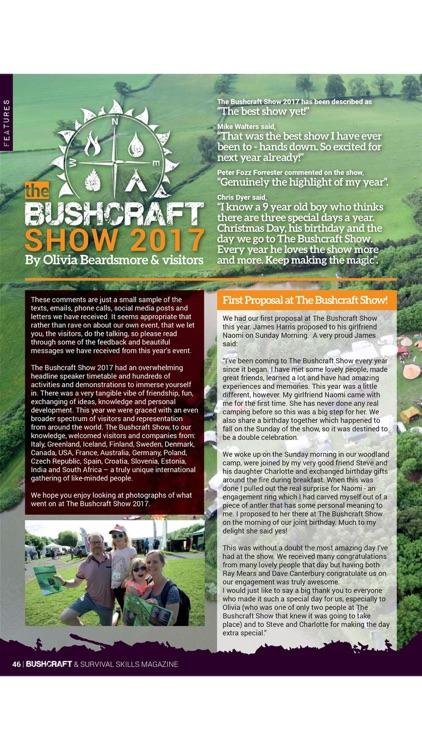 Bushcraft & Survival Skills Magazine - 'For living life outdoors…' screenshot-4