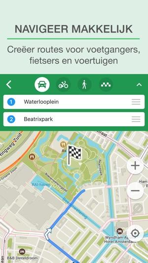 MAPS.ME – Offline kaarten in de App Store