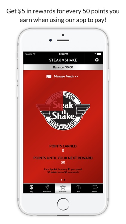 Steak 'n Shake screenshot-1