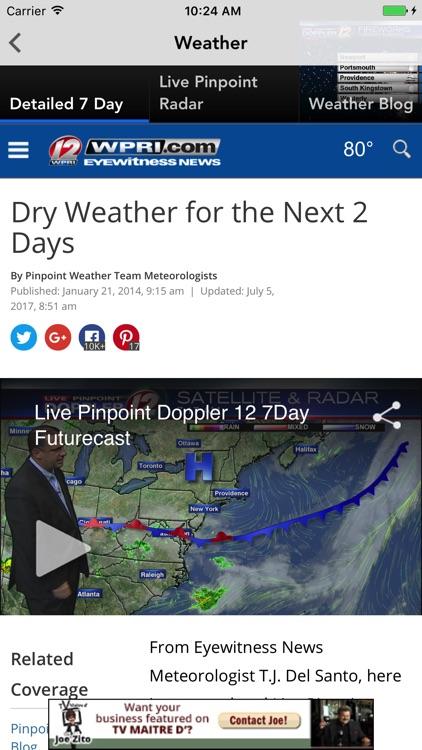 WPRI 12 News - Providence, RI screenshot-3